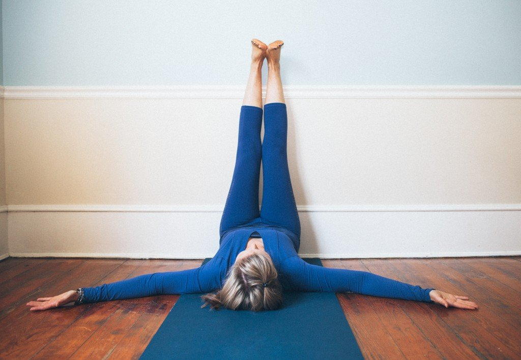 Legs Up the Wall Yoga Pose for Great Sleep