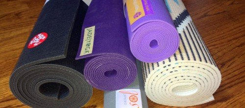 How to Choose a Yoga Mat, Part 2: Five Mat Reviews