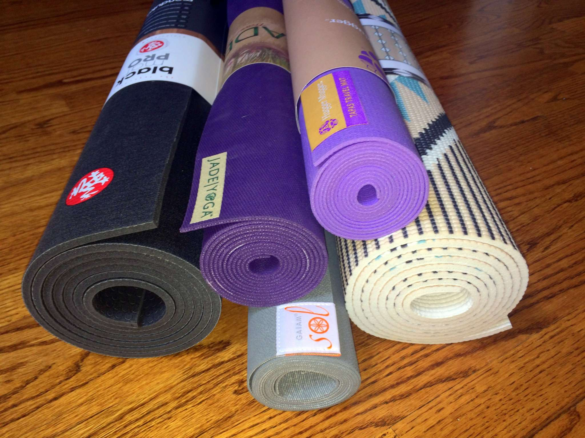 Yoga Mats of Different Types