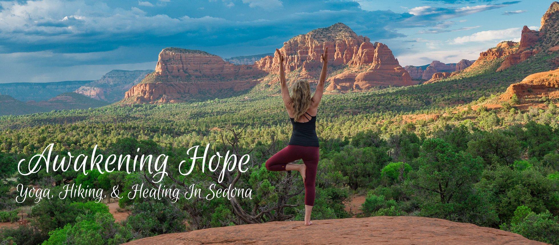 Retreat, Sedona, Yoga Retreat, Awakening Hope, Hope's yoga