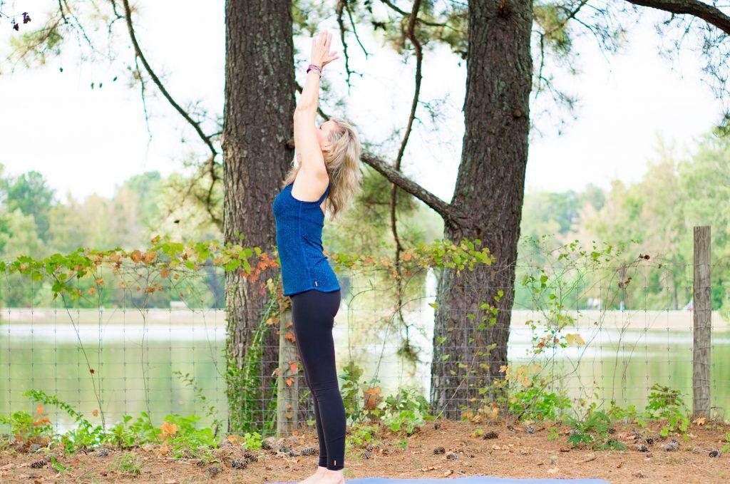Sun Salutation, Mountain Pose - Alpharetta Yoga Studio