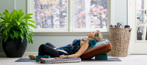 The Benefits of Restorative Yoga ~ Relax and Renew