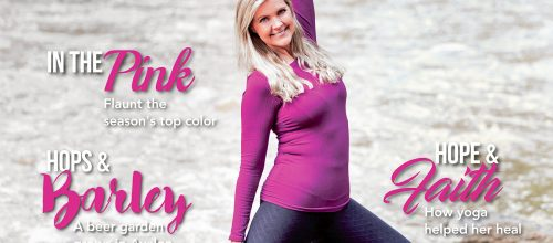 Northside Woman's Magazine Cover Feature – How Yoga Helped Me Heal After Breast Cancer