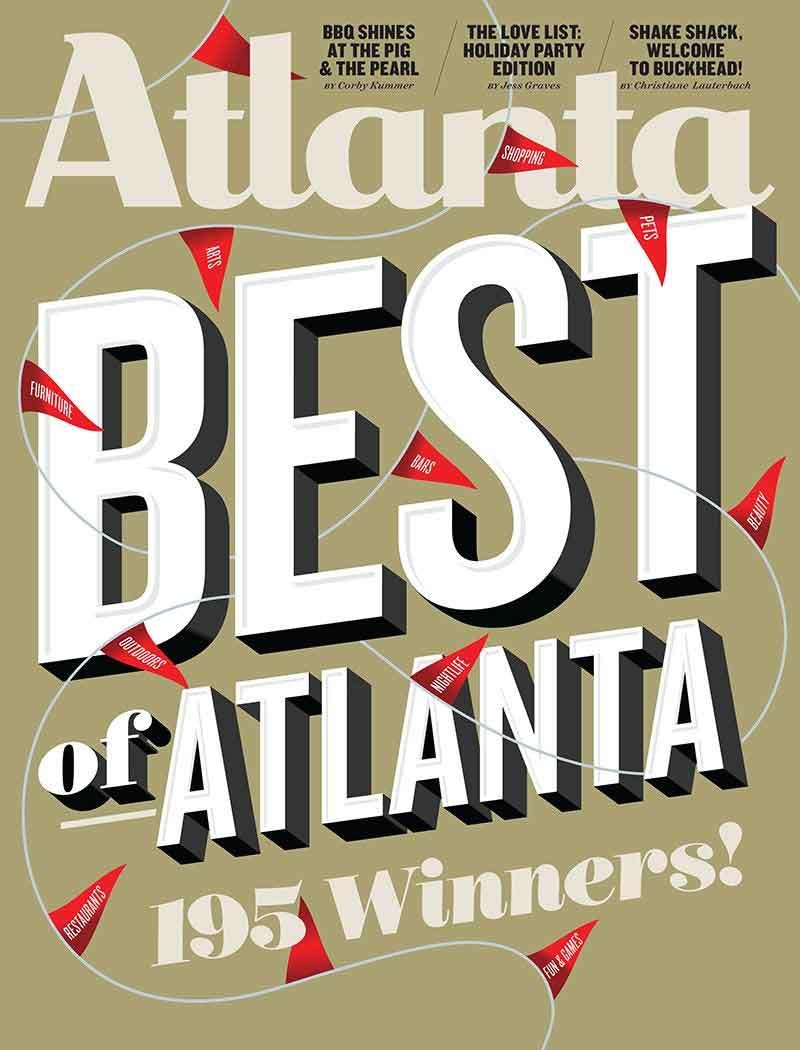 Best of Atlanta magazine - Winner