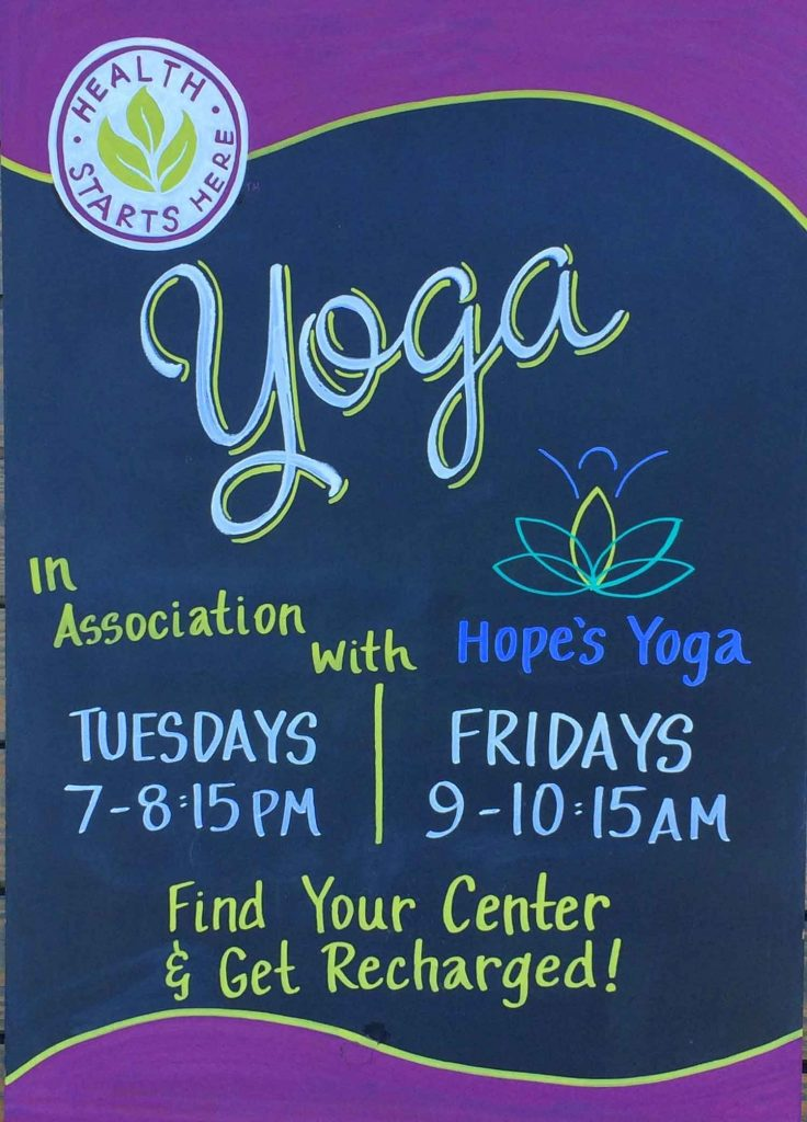 Hope's Yoga at Whole Foods Market