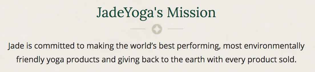 Jade Yoga's Mission