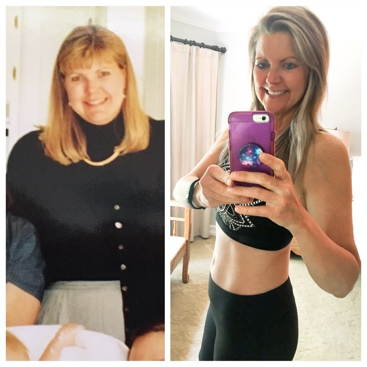 Before and After - Hope Knosher Yoga Instructor